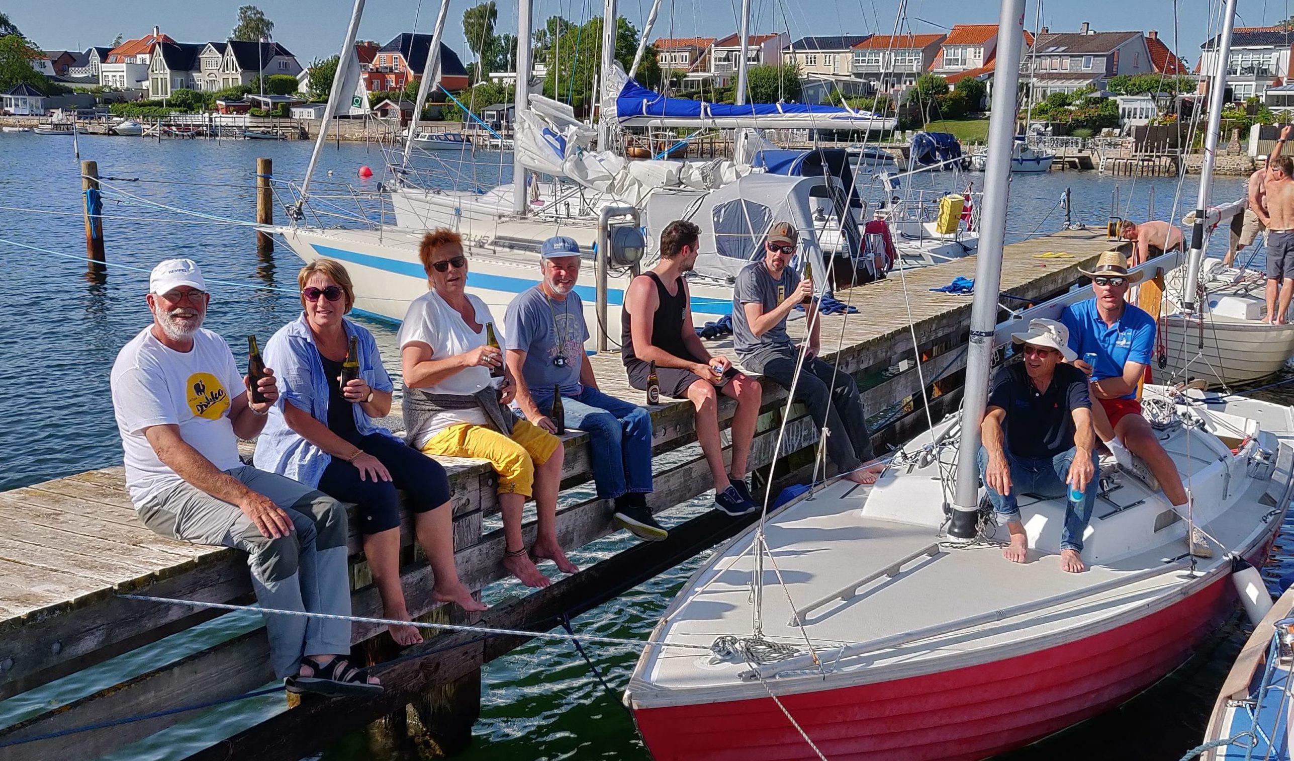 Havnehygge i Faaborg – DM for Folkebåde 2019